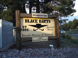Black Bart's Sign